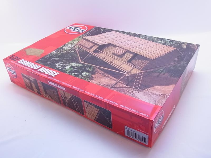 lot 39005 airfix a06382 bamboo house 1 32 haus bausatz ungebaut neu ovp ebay. Black Bedroom Furniture Sets. Home Design Ideas