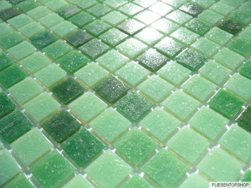 glasmosaik fliesen pool dusche bad mosaik gr n hellgr n dunkelgr n pool mix 1qm ebay. Black Bedroom Furniture Sets. Home Design Ideas