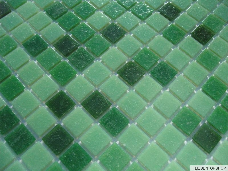 glasmosaik fliesen pool dusche bad mosaik gr n hellgr n dunkelgr n pool mix 1qm ebay. Black Bedroom Furniture Sets. Home Design Ideas