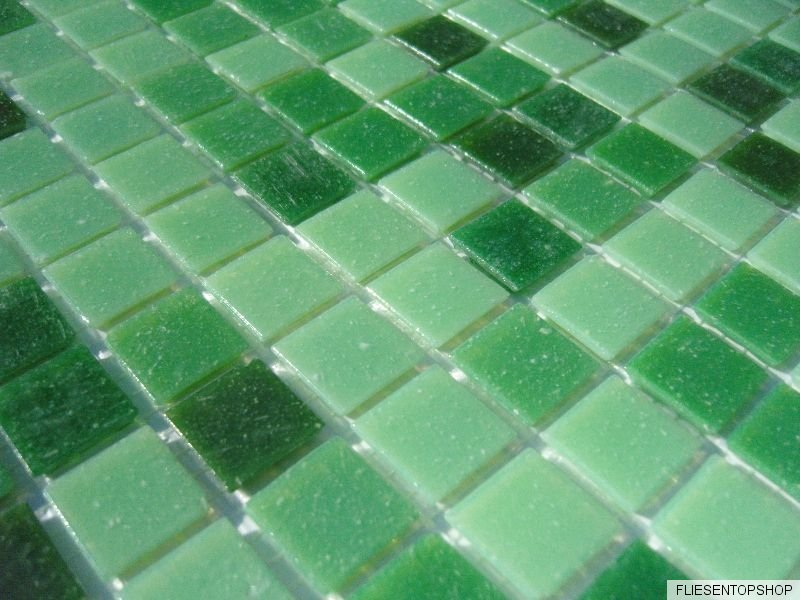 glas mosaik fliesen pool dusche bad mosaik gr n hellgr n. Black Bedroom Furniture Sets. Home Design Ideas