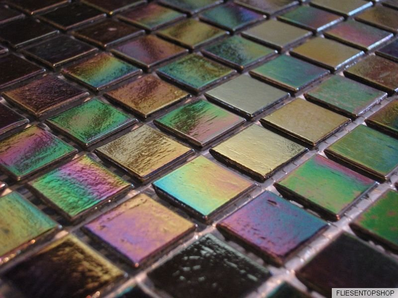 glasmosaik fliesen mosaik perlmutt rainbow 2 17 qm. Black Bedroom Furniture Sets. Home Design Ideas
