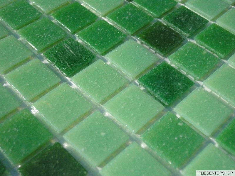 1 qm glas mosaik fliesen pool dusche bad gr n hellgr n dunkelgr n sauna mix ebay. Black Bedroom Furniture Sets. Home Design Ideas