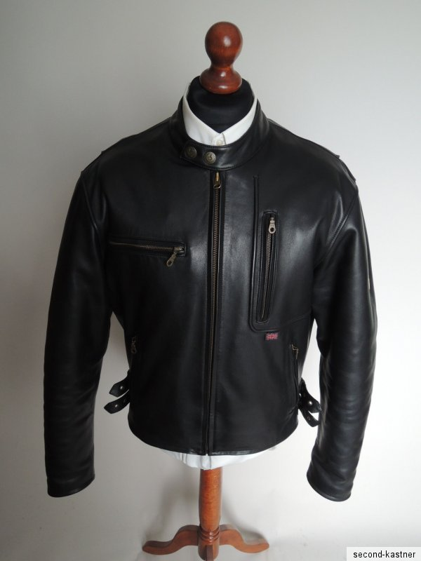 belstaff herren motorrad jacke lederjacke motorradjacke gr 58 xl biker jacke ebay. Black Bedroom Furniture Sets. Home Design Ideas