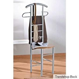 herrendiener kleiderst nder stummer diener garderobe stuhl hocker ebay. Black Bedroom Furniture Sets. Home Design Ideas