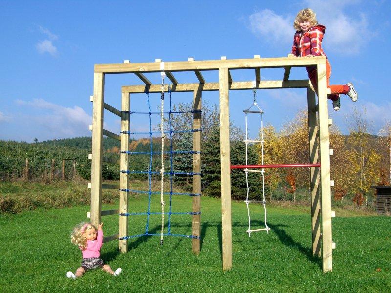 xxl kletterger st 2 4m kletterturm spielturm mit. Black Bedroom Furniture Sets. Home Design Ideas