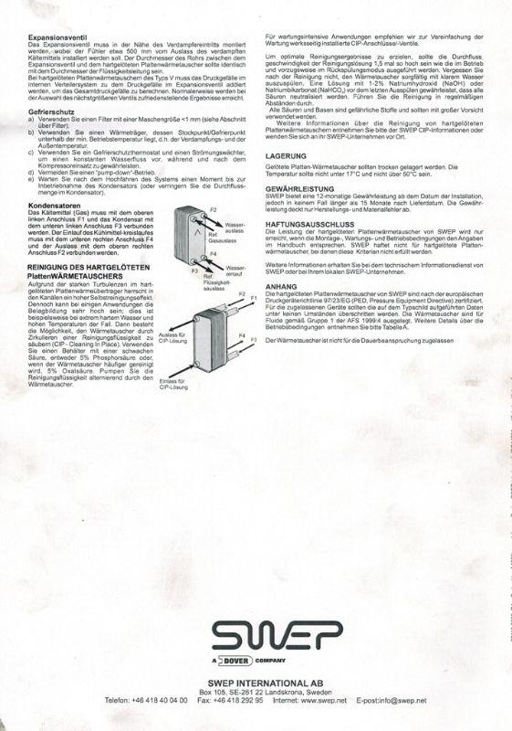 swep b25thx24 1p sc s plattenw rmetauscher w rmetauscher ebay. Black Bedroom Furniture Sets. Home Design Ideas