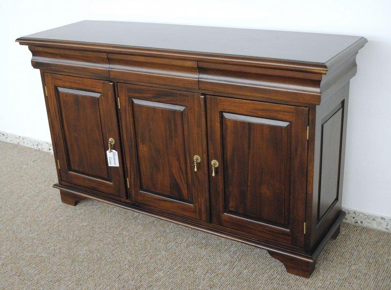 schrank buffet sideboard massiv mahagoni victorian style ebay. Black Bedroom Furniture Sets. Home Design Ideas