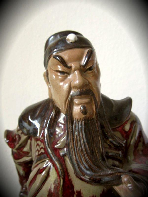 ... alte figur aus china porzellan groß schwer fundstück klasse  eBay