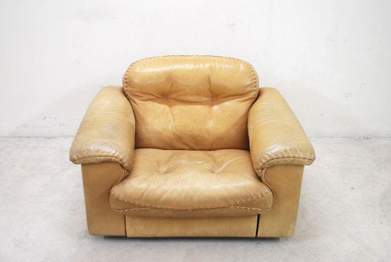 de sede ds 101 vintage lounge chair sessel ledersessel cognac james bond ebay. Black Bedroom Furniture Sets. Home Design Ideas
