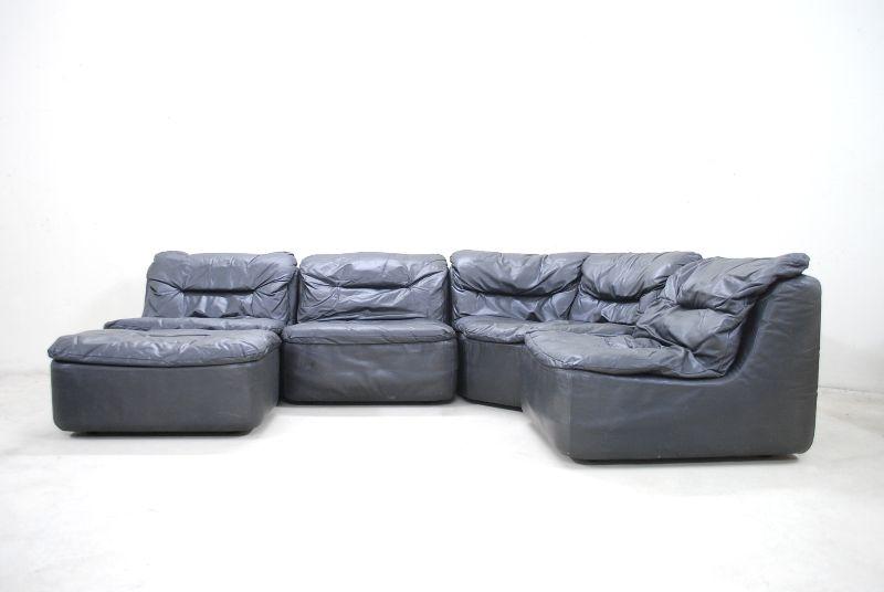 Walter knoll vintage plus modul wohnlandschaft sofa for Wohnlandschaft retro