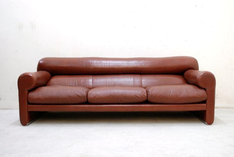 poltrona frau ledersofa modell smoking sofa 70er design. Black Bedroom Furniture Sets. Home Design Ideas