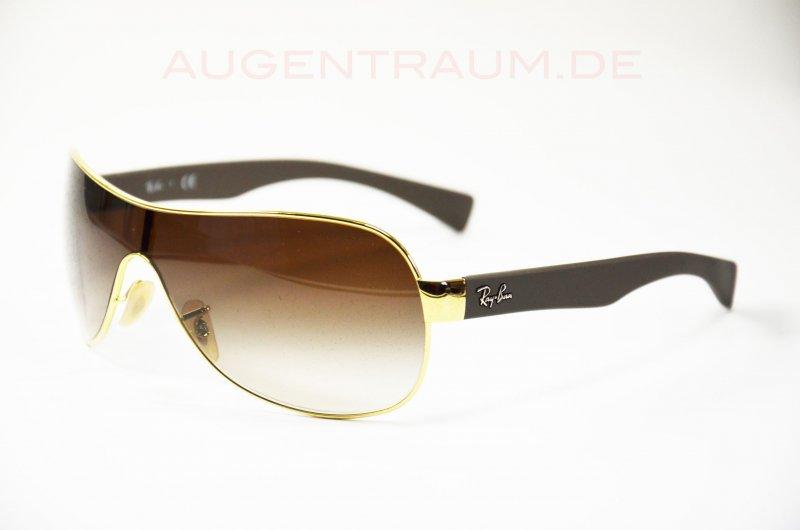 ray ban 3471 001 13 32 damen metall gold sonnenbrille. Black Bedroom Furniture Sets. Home Design Ideas