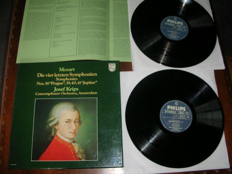 Nm 2lpbox Mozart 4 Last Symphonies 38 39 40 41