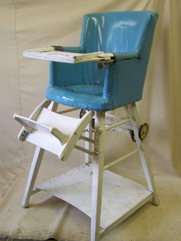 ancienne chaise haute de b b d 39 enfants bois enfants table jeu antique ebay. Black Bedroom Furniture Sets. Home Design Ideas