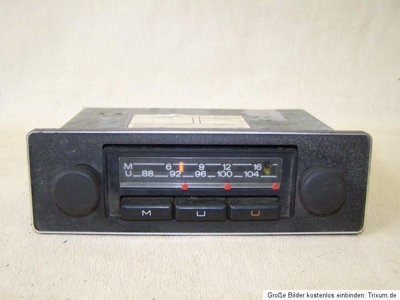 je ne conduit pas une vieille voiture oldtimer autoradio la radio blaupunkt ebay. Black Bedroom Furniture Sets. Home Design Ideas