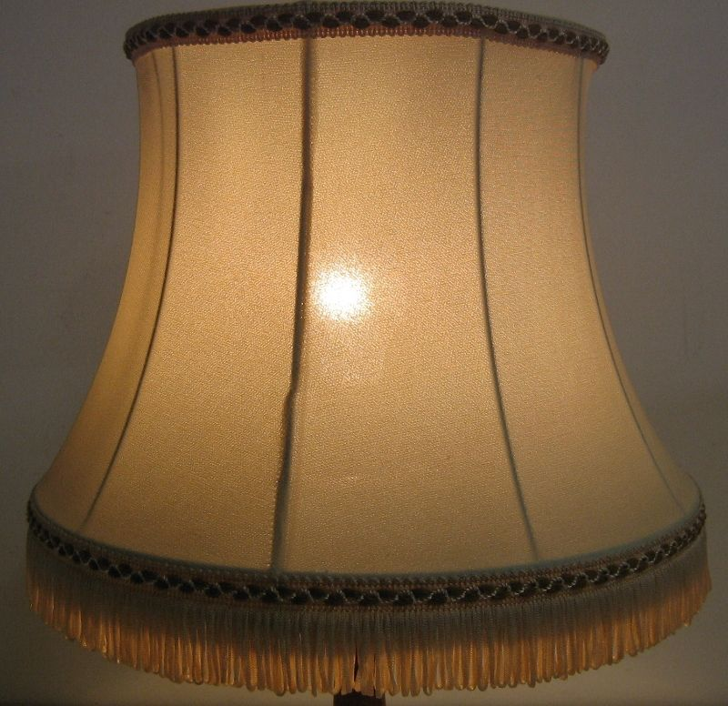 tischlampe stehlampe nachttischlampe messing poliert holz 60ger leuchte lampe ebay. Black Bedroom Furniture Sets. Home Design Ideas