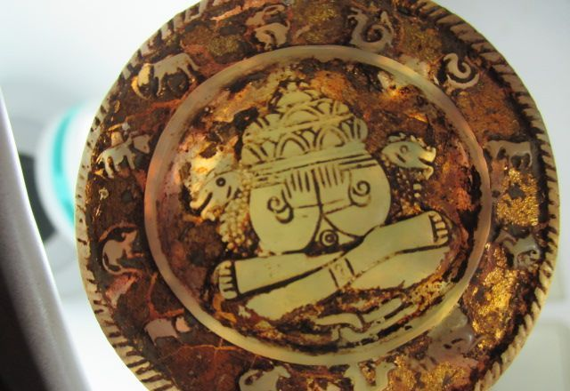 buddha amulett jade transparent 24 k vergoldet elefant ganesha thailand 1970 ebay. Black Bedroom Furniture Sets. Home Design Ideas