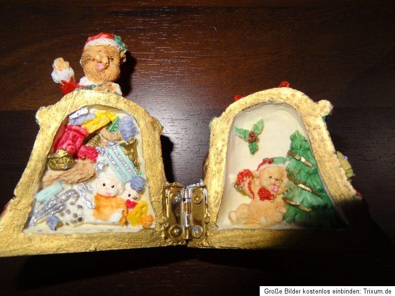 3 kleine glocken deko geschenk nikolaus weihnachts mann a. Black Bedroom Furniture Sets. Home Design Ideas