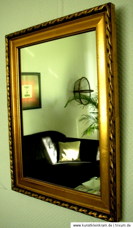 spiegel biedermeier art deco prunkrahmen sammler antik bilderrahmen holzrahmen ebay. Black Bedroom Furniture Sets. Home Design Ideas
