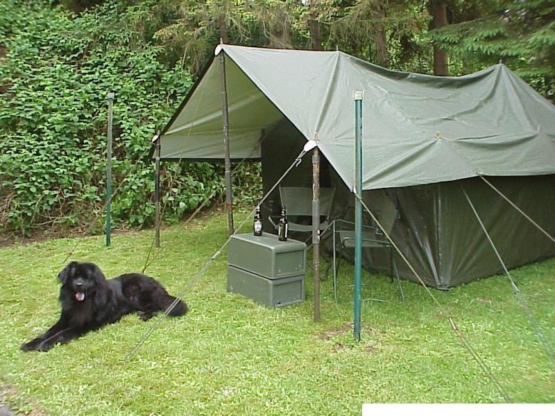 Bw Zelt Gebraucht : Original bw gefechtszelt bj bundeswehrzelt stabszelt
