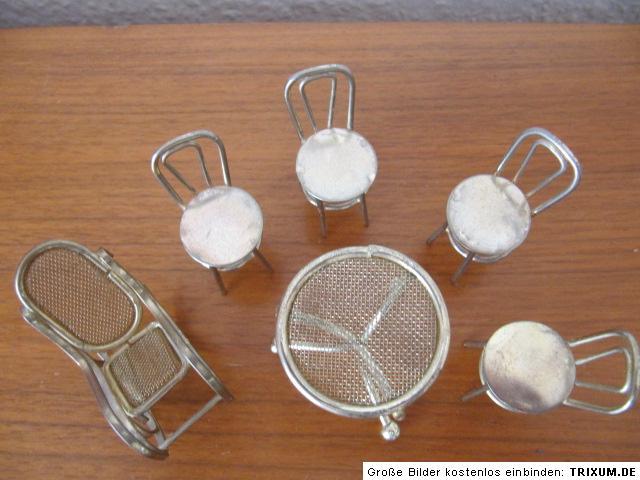 Selten kaffeehausst hle tisch schaukelstuhl for Ebay schaukelstuhl