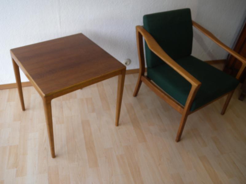 50er wilkhahn beistelltisch tisch design hartmut lohmeyer for Tisch 50er design