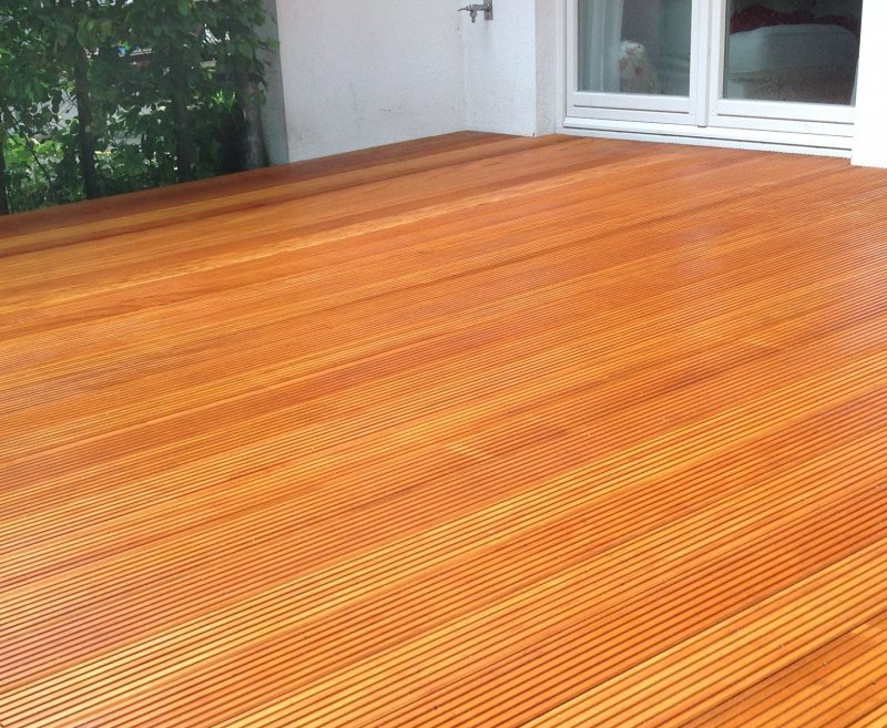 terrasse terrassenholz bilinga terrassendielen hartholz. Black Bedroom Furniture Sets. Home Design Ideas