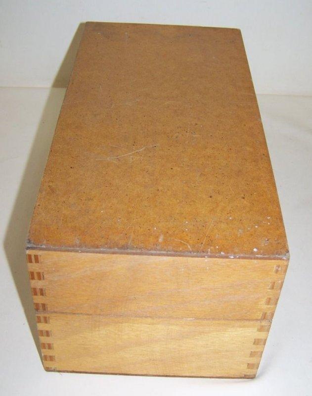 Vieux meuble classeur tiroir en bois empilable meuble d for Meuble classeur bois