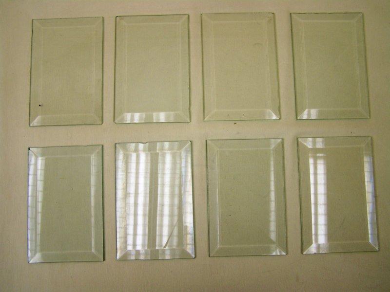 ancien geschliffenes glas pour cadre photo 18 x 12 cm verre ebay. Black Bedroom Furniture Sets. Home Design Ideas