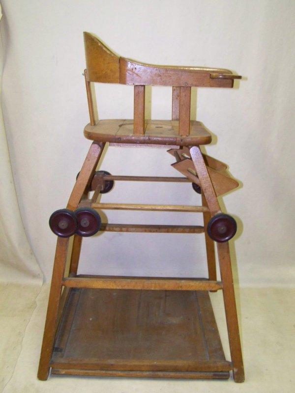 Alter Kinderhochstuhl Kinderstuhl Holz Kinder Stuhl