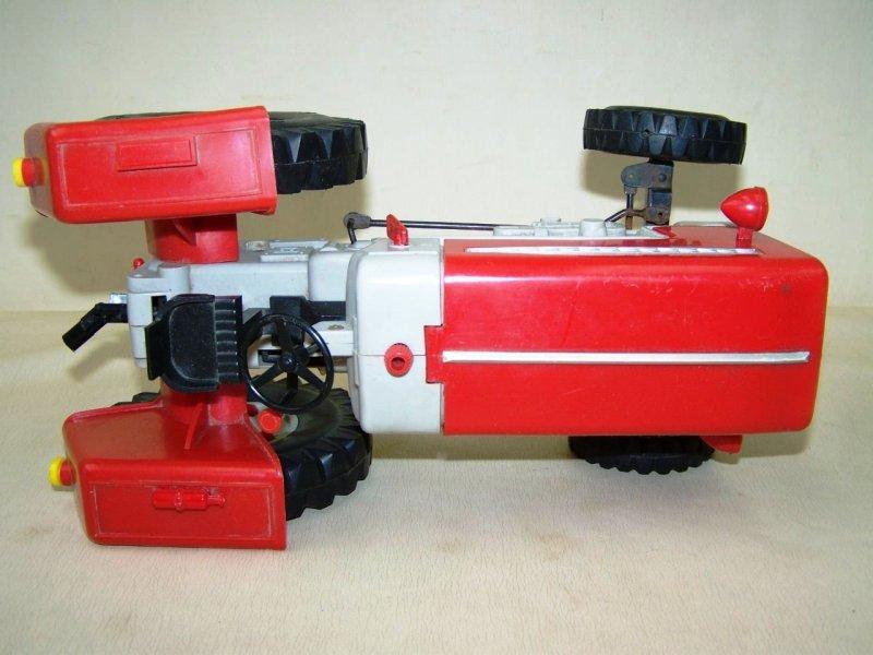 Ddr spielzeug auto traktor mit anhänger anker zt pico