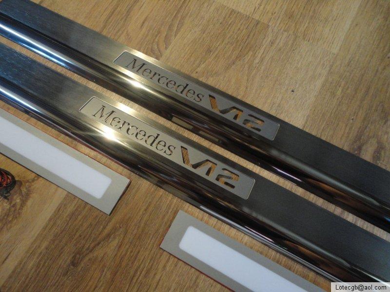 Mercedes benz new sl r231 full amg brabus mercedes for Mercedes benz door sill