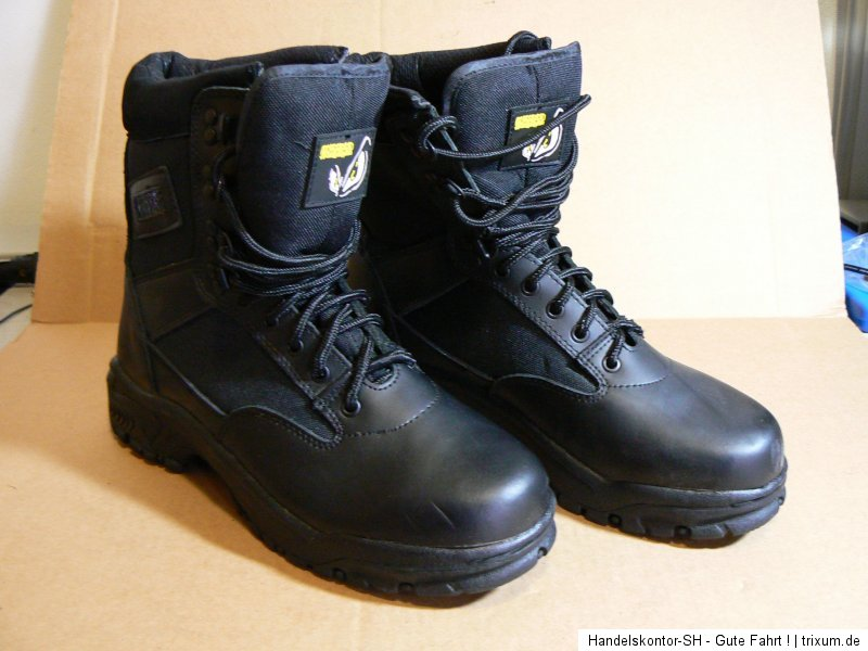 streetfighter motorrad boots stiefel schwarz gr 45 echt leder ebay. Black Bedroom Furniture Sets. Home Design Ideas