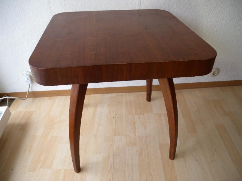 exlusiv art deco streamline tisch design jindrich halabala beistelltisch 20er 6 ebay. Black Bedroom Furniture Sets. Home Design Ideas