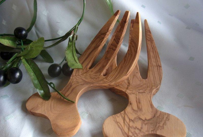 olivenholz salatbesteck holz oliven l baum ca 19 x 8 5 x. Black Bedroom Furniture Sets. Home Design Ideas