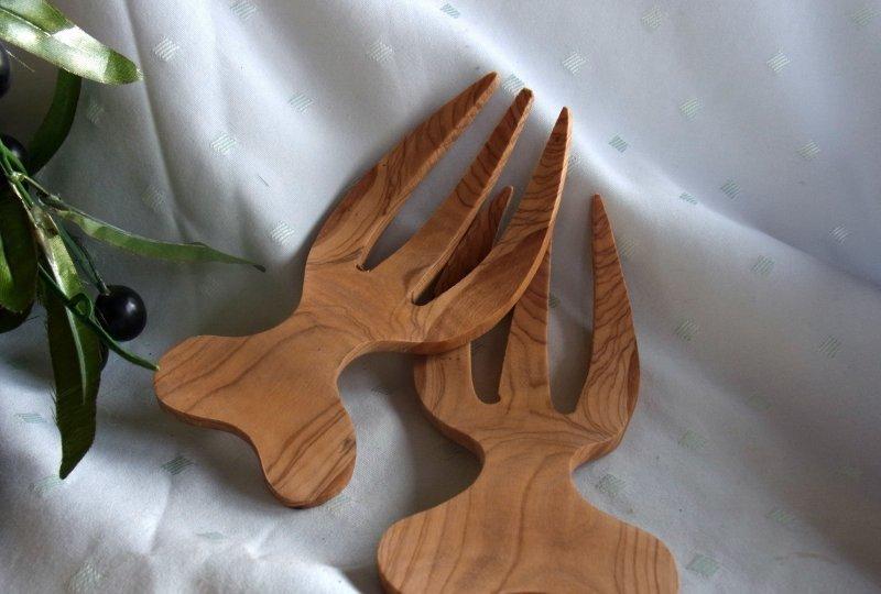 olivenholz salatbesteck holz oliven l baum ca 19 x 8 5 x 1 5cm ebay. Black Bedroom Furniture Sets. Home Design Ideas