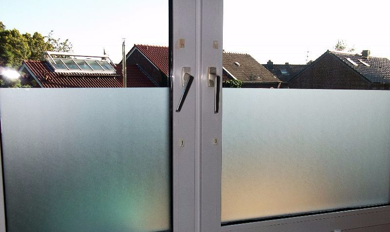 6 57 m pellicola a specchio vetro latteo congelato finestra pellicola ebay - Pellicola finestre specchio ...