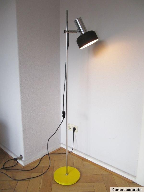 60 s stehleuchte stehlampe floor lamp ebay. Black Bedroom Furniture Sets. Home Design Ideas
