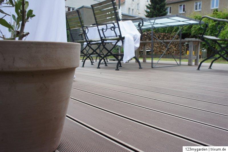 wpc terrassendielen 100 qm komplett bausatz diele dielen holz terrassendiele ebay. Black Bedroom Furniture Sets. Home Design Ideas