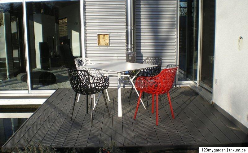 wpc terrassendielen 20 qm komplett bausatz diele dielen holz terrassendiele ebay. Black Bedroom Furniture Sets. Home Design Ideas