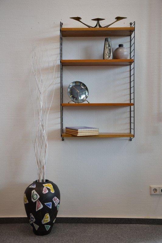 string nisse 50er 60er mid century shelf regal ebay. Black Bedroom Furniture Sets. Home Design Ideas