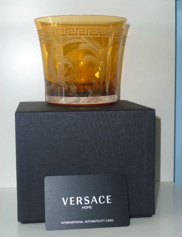 rosenthal versace arabesque amber whisky becher. Black Bedroom Furniture Sets. Home Design Ideas