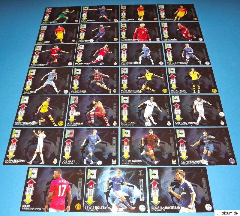 Die Brandneue Serie Von Panini Zur Aktuellen Champions League 2012 13