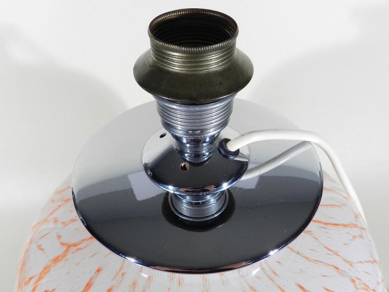 WMF Ikora Glas Lampe ° xxl Tischlampe ° art deco glass