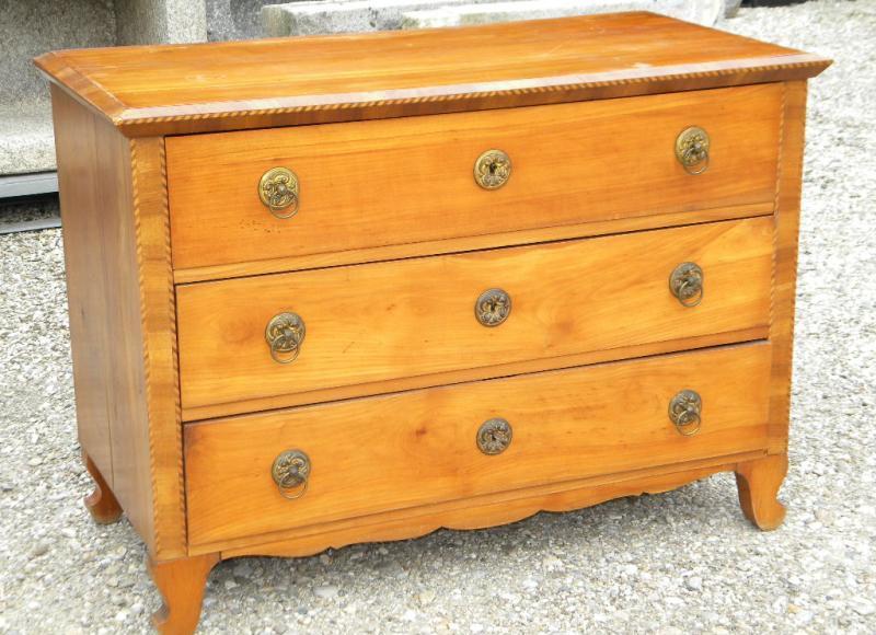 1840 biedermeier kommode kirsche glasaufsatz. Black Bedroom Furniture Sets. Home Design Ideas