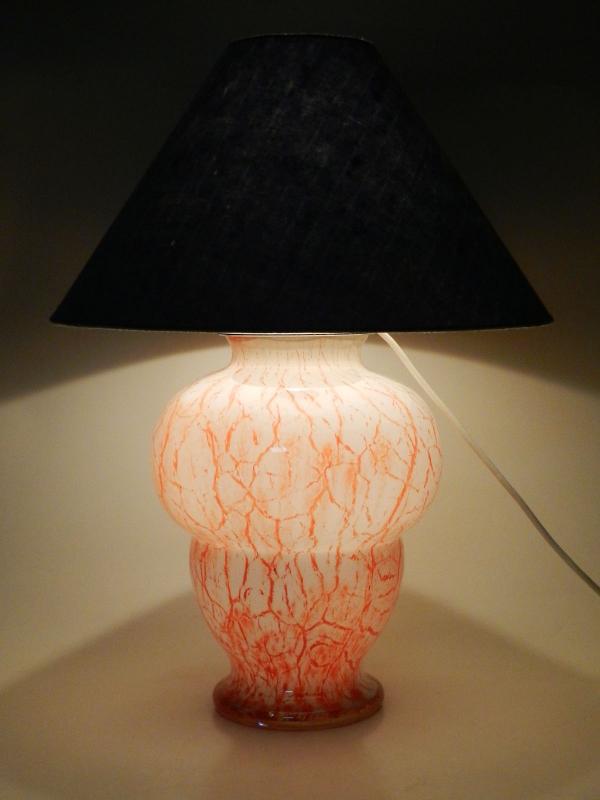 wmf ikora glas lampe xxl tischlampe art deco glass. Black Bedroom Furniture Sets. Home Design Ideas