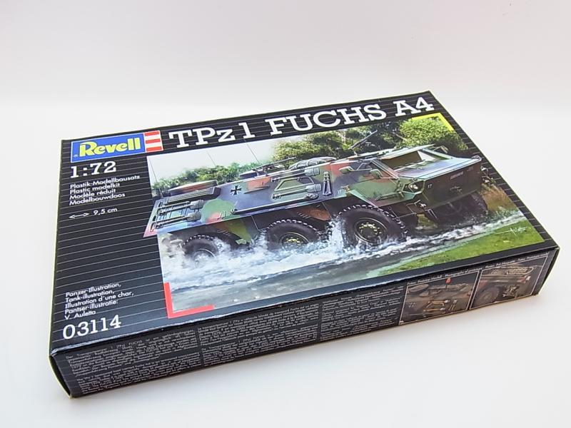 lot 33667 revell 03114 tpz1 fuchs a4 bw transportpanzer 1 72 bausatz neu ovp. Black Bedroom Furniture Sets. Home Design Ideas