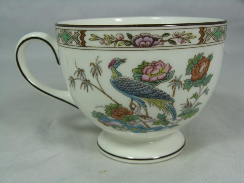 wedgwood fine bone china porzellan kutani crane teacup tee kaffee tasse leigh ebay. Black Bedroom Furniture Sets. Home Design Ideas