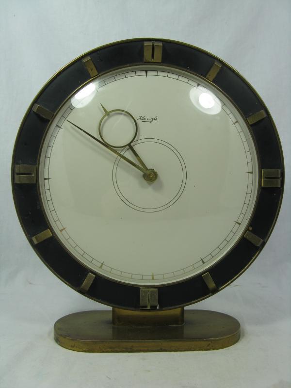 art deco kienzle uhr clock heinrich m ller bauhaus design working condition ebay. Black Bedroom Furniture Sets. Home Design Ideas