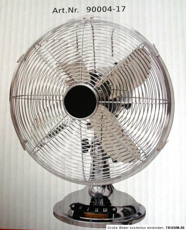 Leuchten direkt design tischventilator ventilator for Design tischventilator